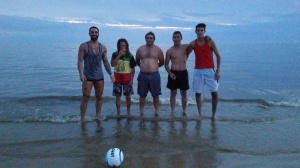 Jorge, Michael, Ramiro, Joaquim